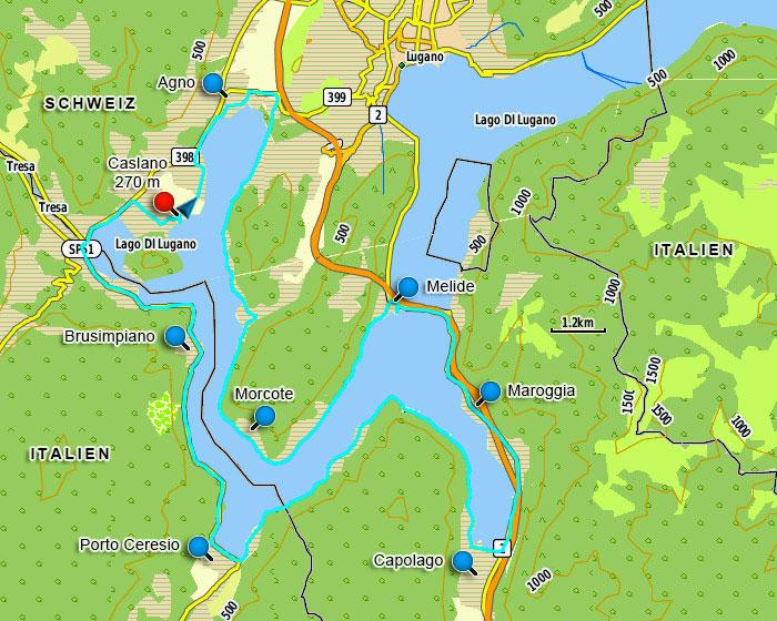 Lugano Monte Bre Und Luganersee Ch Downhillhoppers