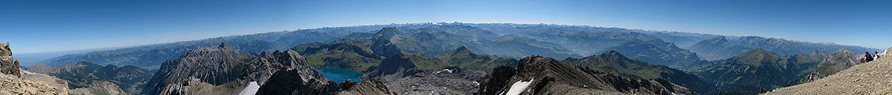 Panorama auf der Schesaplana